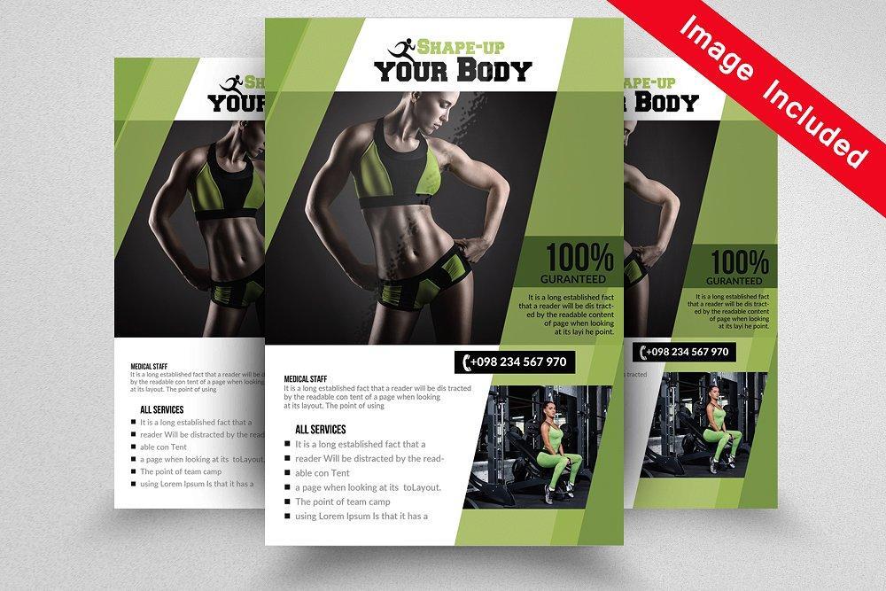 森林资源调查报告_10款健身主题海报模板 10 Fitness Flyer Bundle Vol.01 - 设计森林 PlanForest