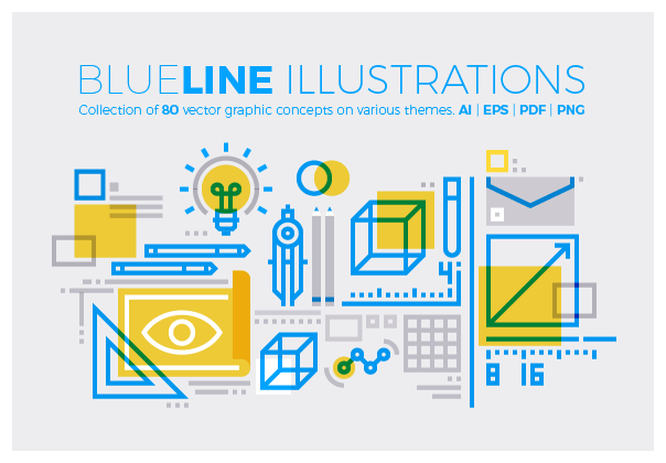Blueline Illustrations