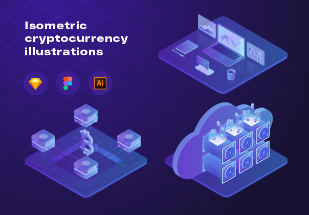Cryptocurrency Illustrations
