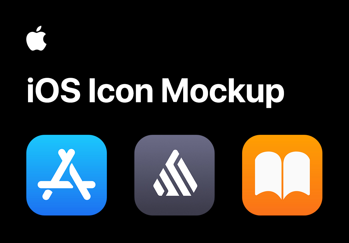 iOS Template Icon Mockup