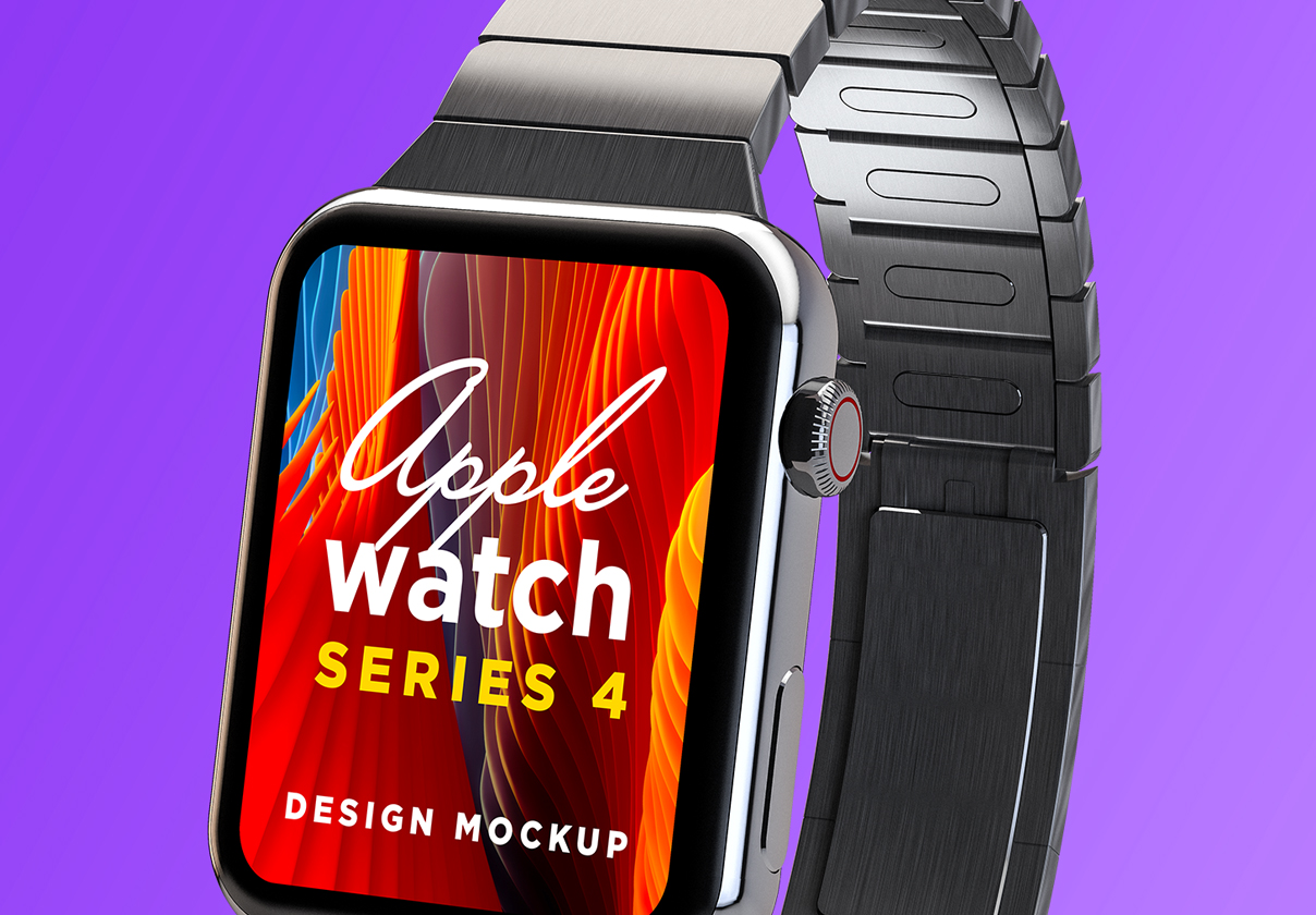 Apple Watch Series 4 Mockup 02