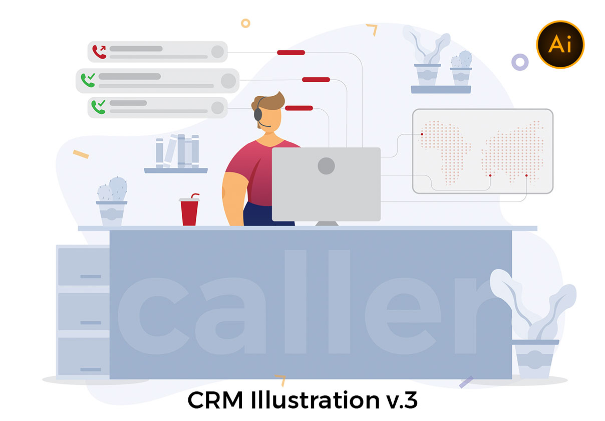 CRM Illustration v.3