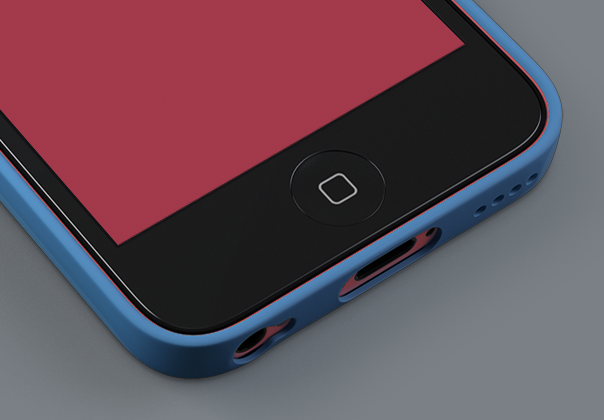 iPhone 5c Template