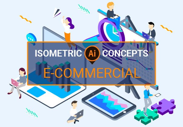 E-Commercial Isometric