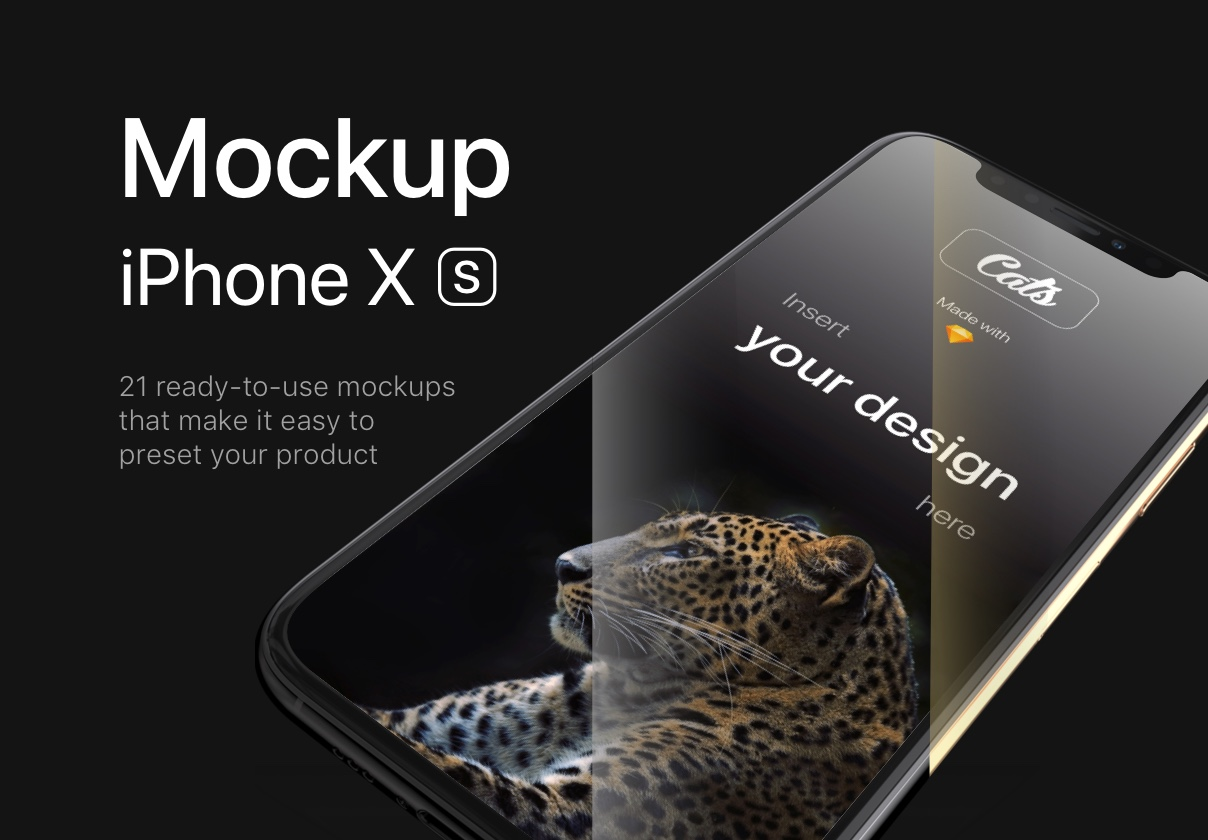 iPhone Xs Mockups – Cheetah