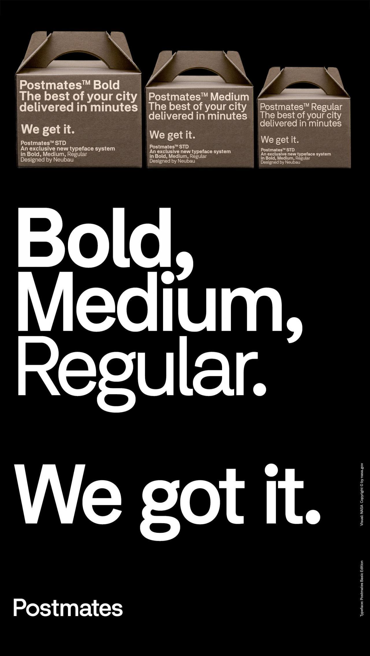 美国物流公司Postmates品牌标识设计- 设计森林PlanForest
