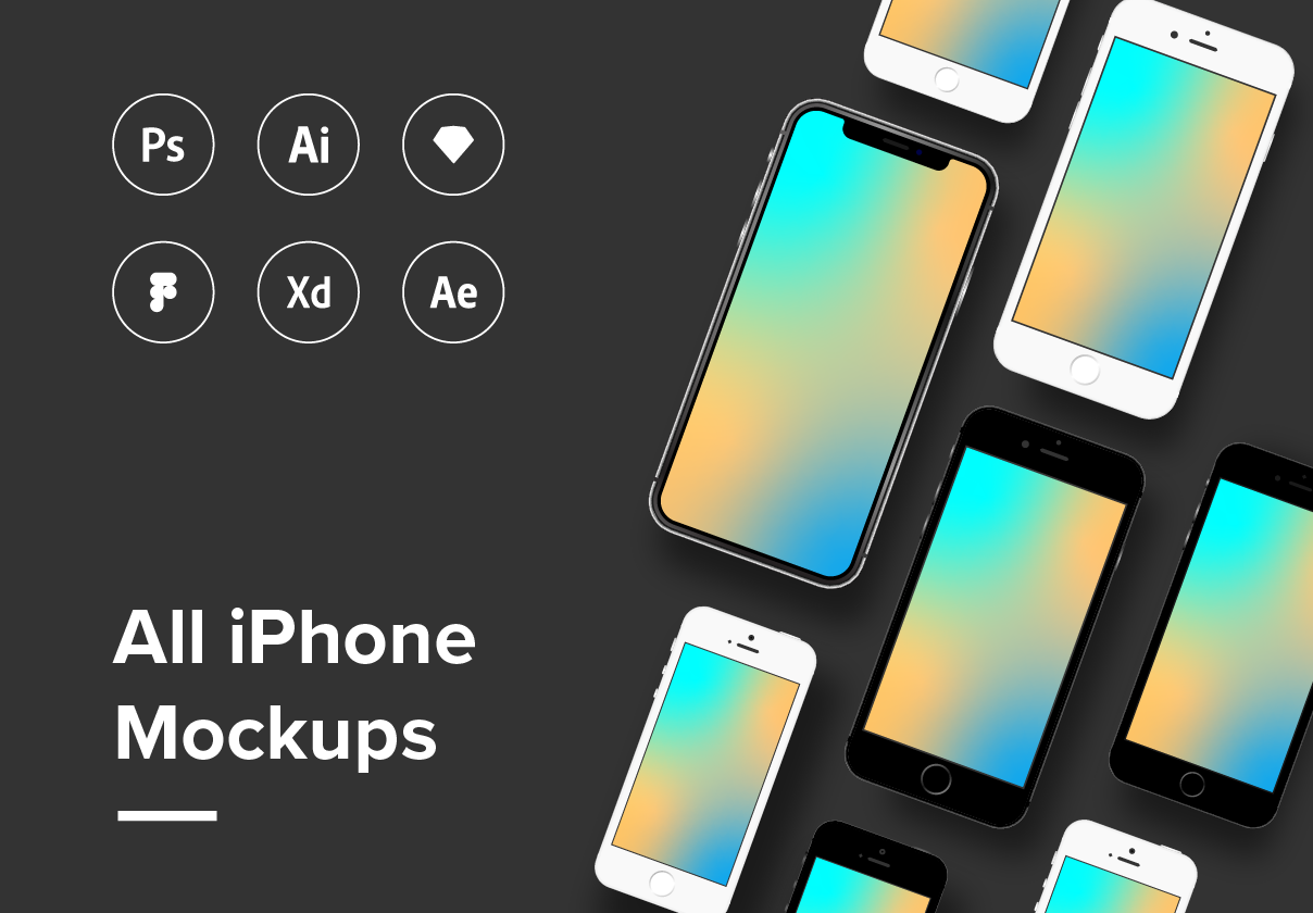 All iPhone Mockup