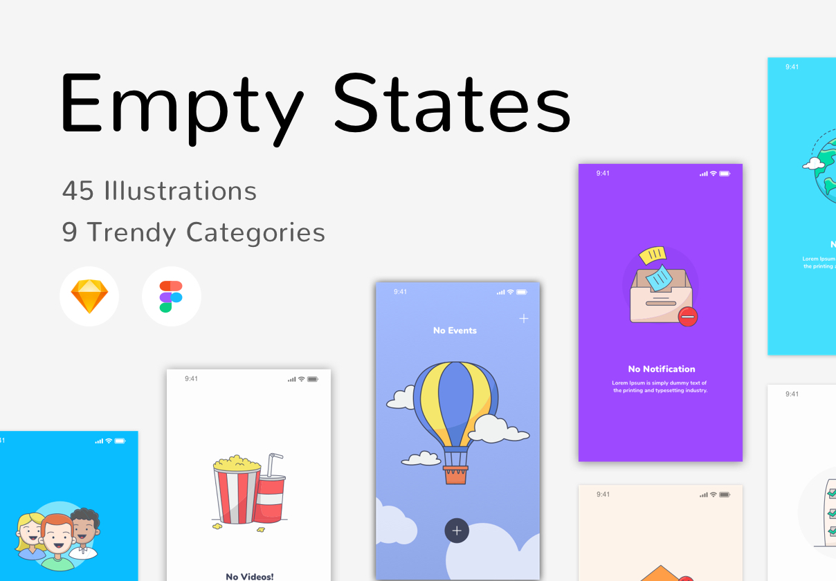 Empty State Illustrations
