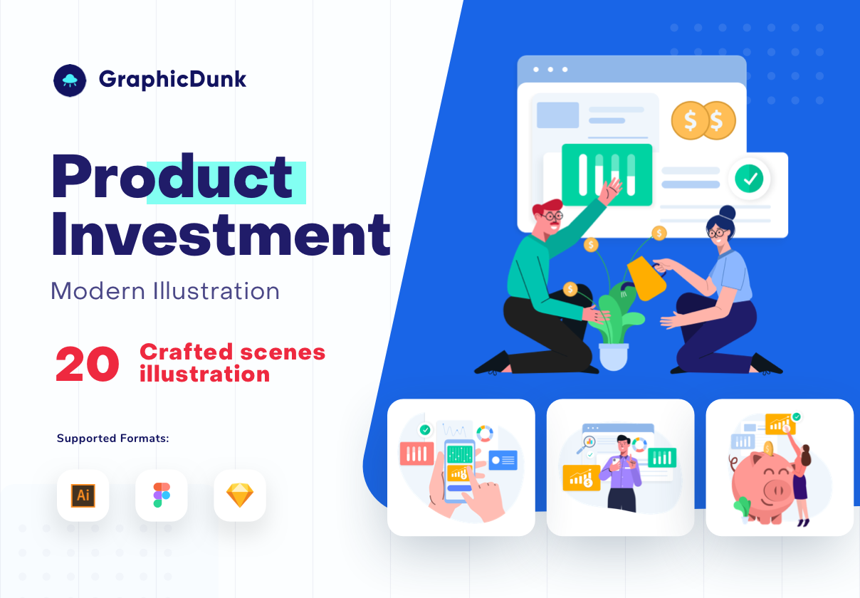 Graphicdunk – Product investment – illustration
