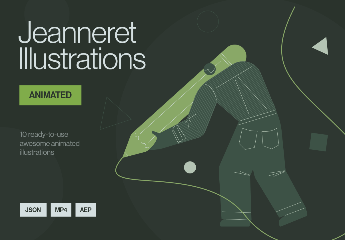Jeanneret Animated Illustrations